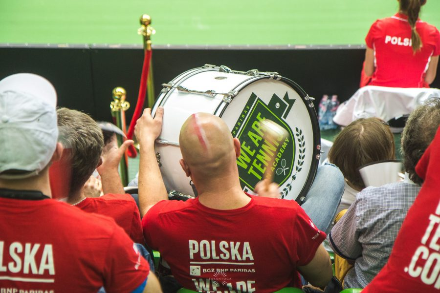 16.04.2016 FED CUP BNP Paribas Polska vs. Tajwan - fot. Szymon Zdzieblo / www.tarantoga.pl
