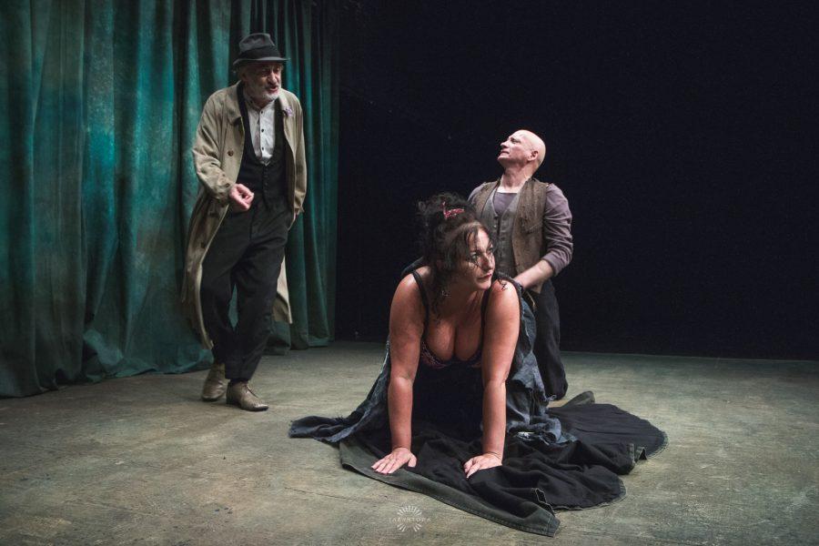 Proba spektaklu Dziwka z Ohio w Teatrze Horzycy - fot. Szymon Zdzieblo / www.tarantoga.pl